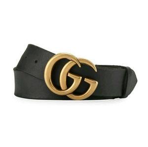 Jeniffer Aniston Style Leather Gucci Belt
